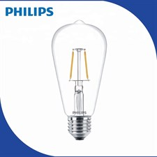 7W Warm White ST64 Vintage LED Filament Decorative Squirrel Cage Bulb