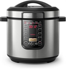 Philips All in One Viva Collection Multi Cooker, Pressure Cooker, Slow Cooker 6 Litre