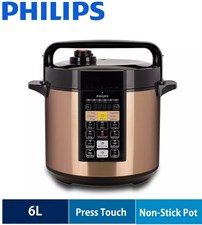 Philips Electric Pressure Cooker Viva Collection HD2139/62 6L