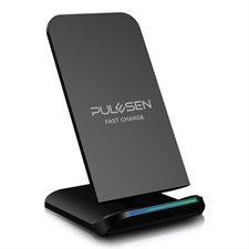2 Coils Qi Fast Wireless Charging Pad Stand