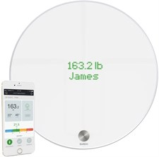 QardioBase Bluetooth & WiFi Smart Digital Bathroom Scale, BMI, Weight & Body Analyzer