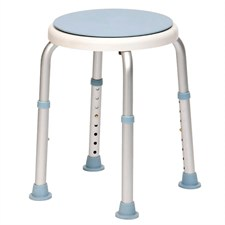 Drive DeVilbiss Healthcare - Rotating Rounded Bath / Shower Stool with Swivel Seat