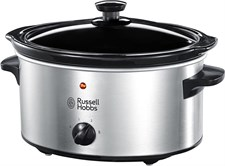 RusselHobbs Slow Cooker 3.5L Stainless Steel