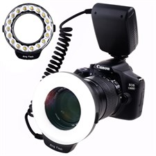 Macro Ring Flash Photography with 18pcs SMD LED Light