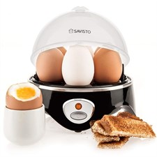 Electric Stainless Steel Egg Cooker with Poaching and Stewing Eggs - Omelette Pan