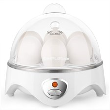 SIMPLETASTE Egg Cooker 7 Eggs Capacity