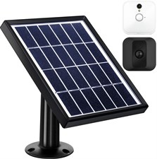 Solar Panel Compatible with Blink XT XT2 Outdoor/Indoor Security Camera 12 Feet/ 3.6 m Cable