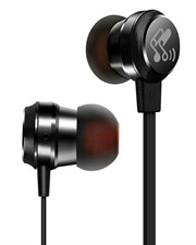 M20 Metal In-Ear Ergonomic Comfort-Fit Wired Earphones with Microphone