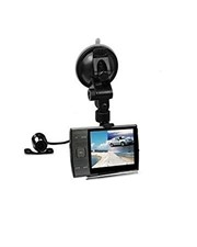Dual Camera Car DVR Video Recorder  3.5 Inch Display HD 720P