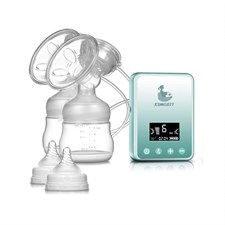Rechargeable Dual Electric Breast Pump Digital LCD Display