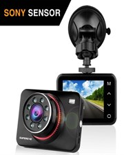 SuperEye Full HD Car DVR Dash Cam Dashboard Camera 1080P