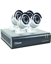 Swdvk-845504-Uk Pro Series 8 Channel CCTV Security System - 4 Cameras - 2 Tb - 1080P