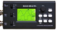 Dual Channel 10 MHz 50 MSa/s USB Virtual Digital Storage Oscilloscope