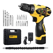 2000 mAh 16.8V Lithium-ion Battery Electric Drill Kit