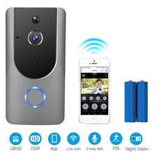 WIFI Video Doorbell HD 720P Wireless Smart Video Doorbell WITH PIR Motion Detection