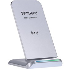 2 Coils QI Wireless Charging Stand