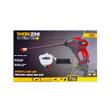 WorkZone 20V High Pressure Car Washer Spray Gun 320psi
