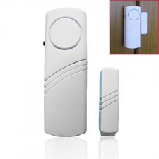 Pack of 2 Entry Wireless Door Window Safety Contact Magnetic Security Alarm