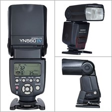 YN560 IV Wireless Flash Speedlite with Built-in Trigger System for DSLR