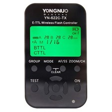 YN-622C-TX E-TTL Wireless Flash Controller for Canon